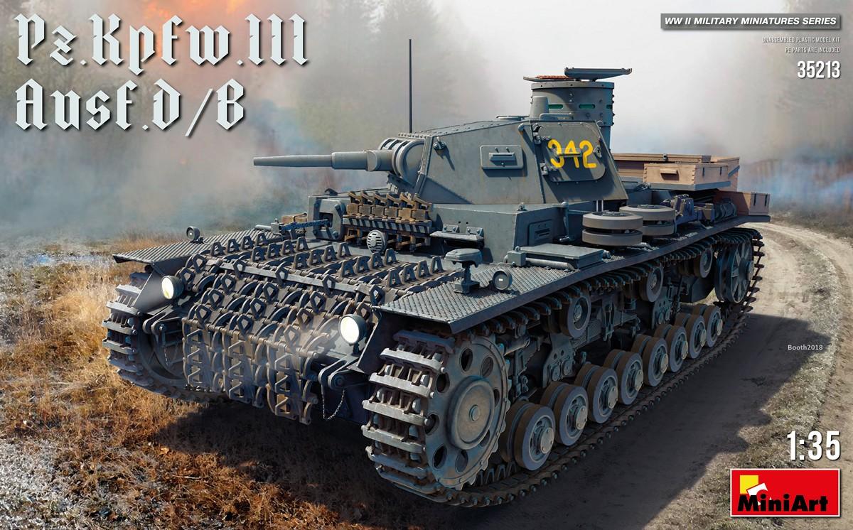 MiniArt Pz.Kpfw.III Ausf. D/B (1/35)