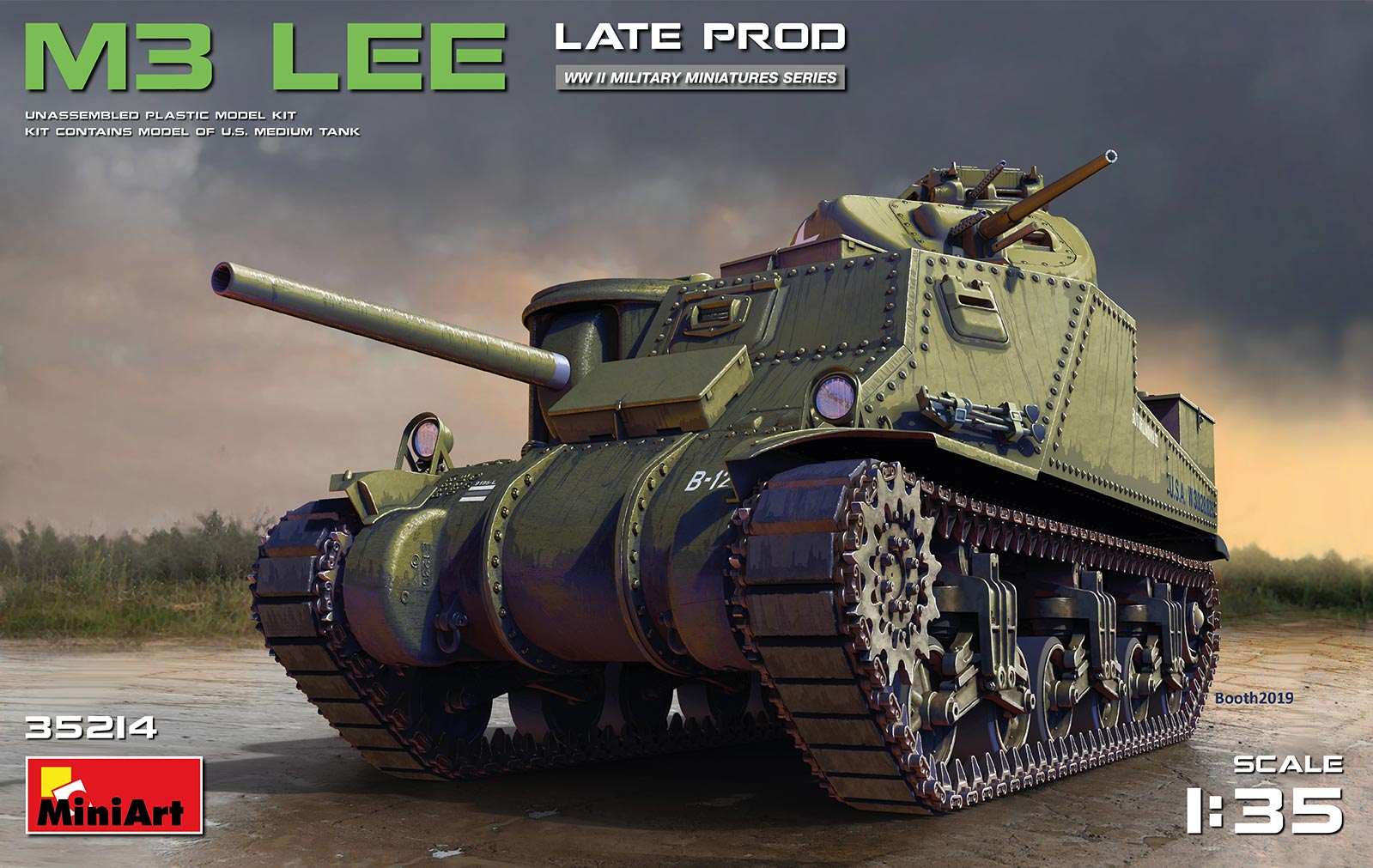MiniArt M3 Lee Late Production