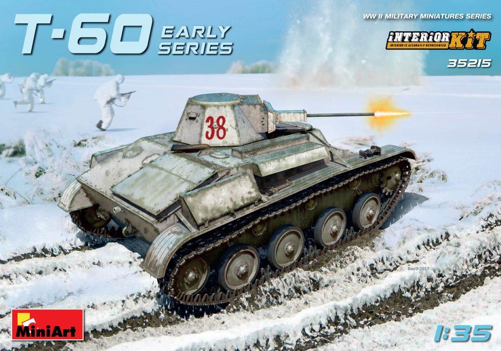 MiniArt T-60 Early Series (Gorky Automobile Plant) Interior Kit (1/35)
