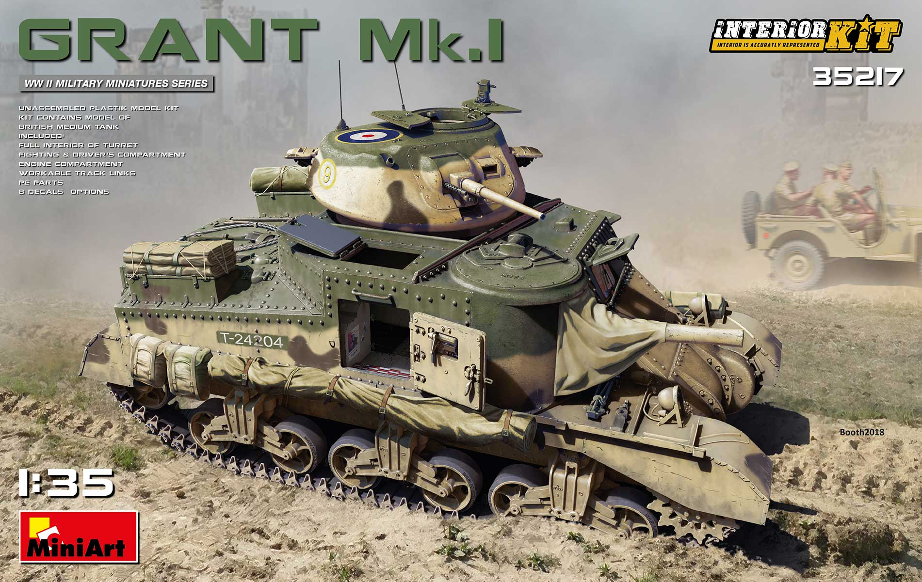 Miniart Grant Mk.I Interior Kit