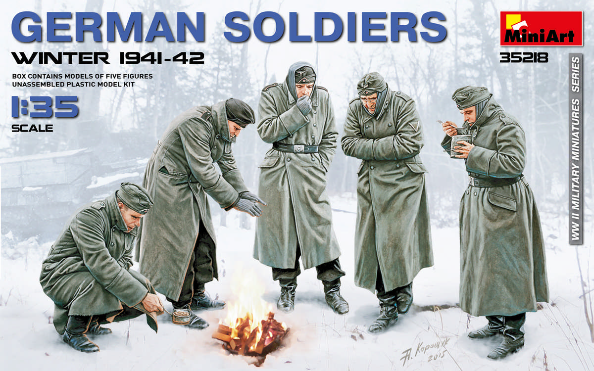 MiniArt 1/35 German Soldiers (Winter 1941-42)