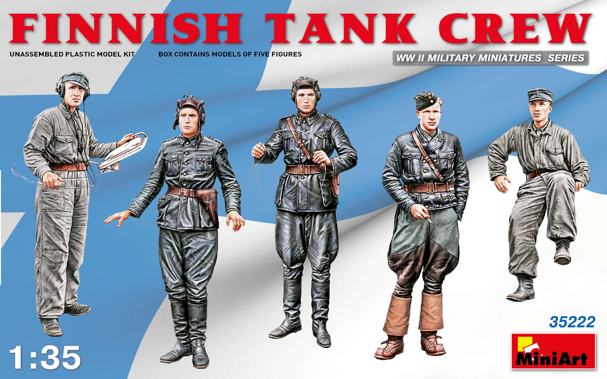 MiniArt Finnish Tank Crew (1/35)