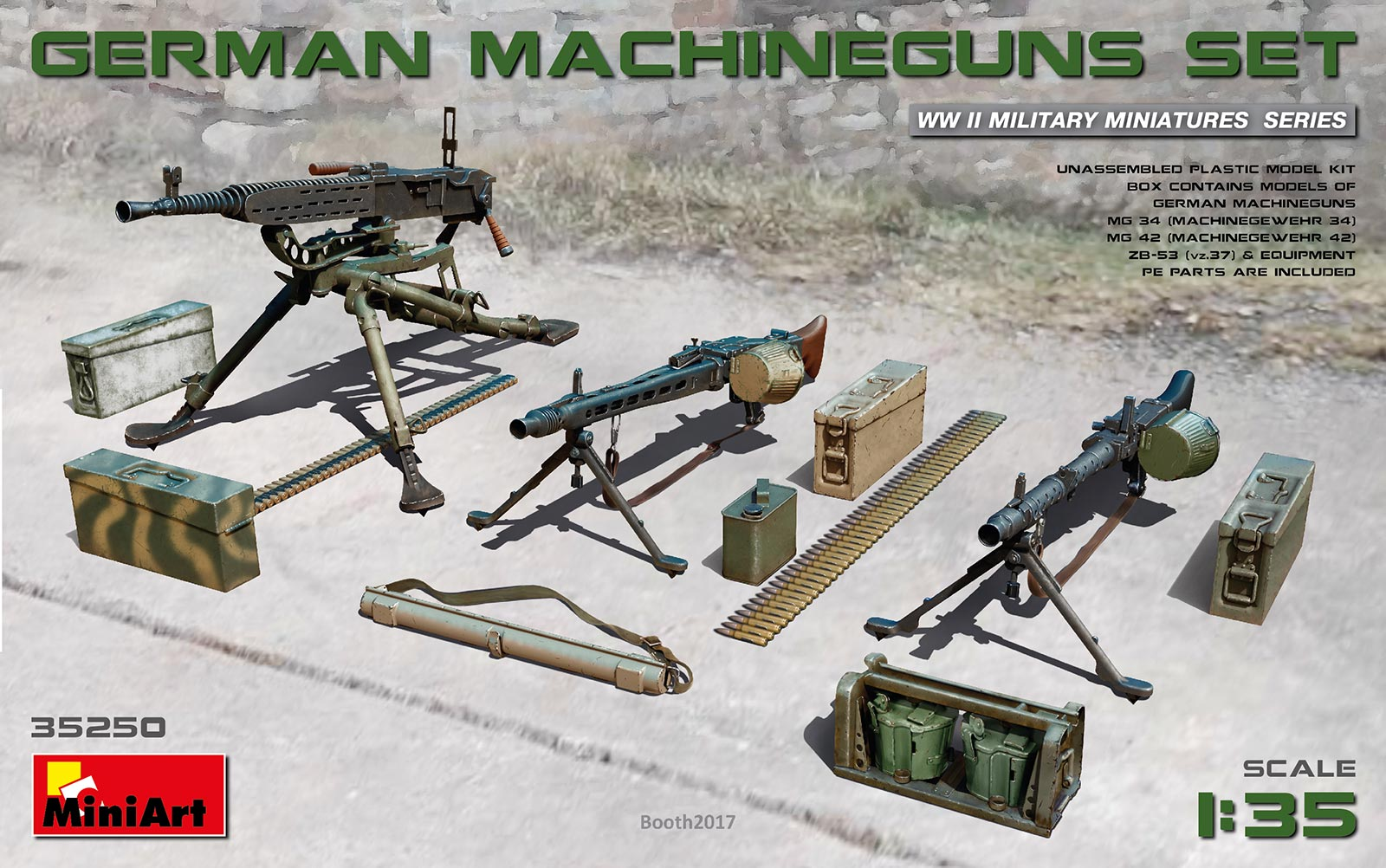 MiniArt German Machineguns Set (1/35)
