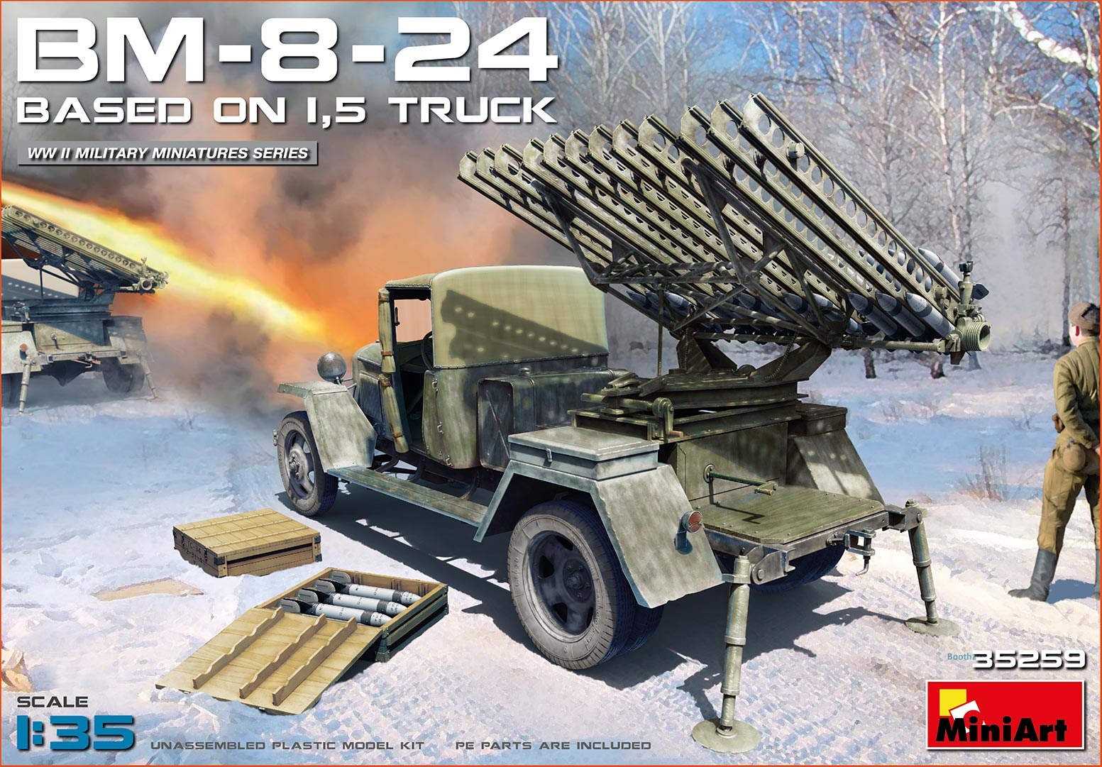 MiniArt BM-8-24 Based on 1,5t Truck (1/35)