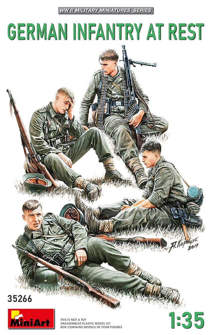 MiniArt 1/35 German Infantry at Rest