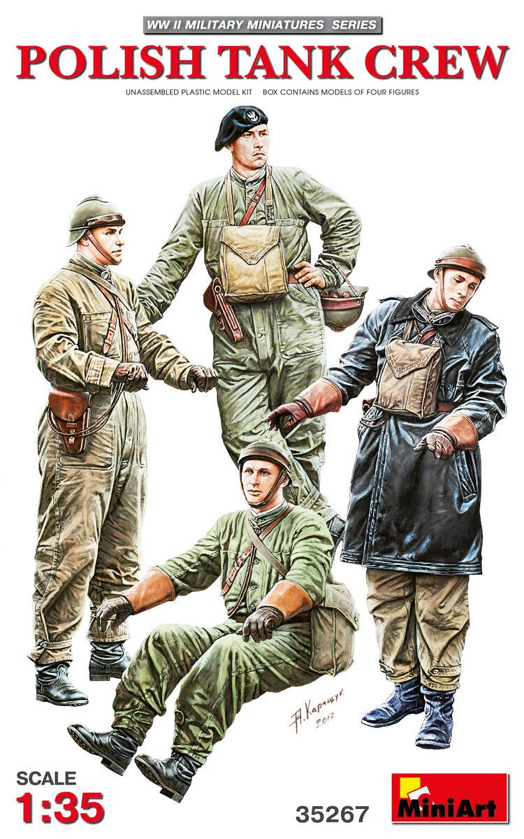 MiniArt Polish Tank Crew (1/35)