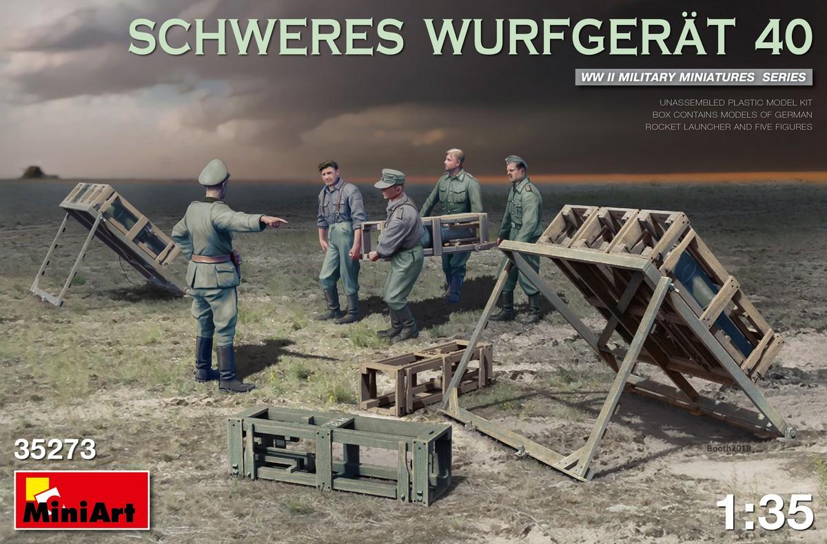 MiniArt Schweres Wurfgerat 40 (1/35)
