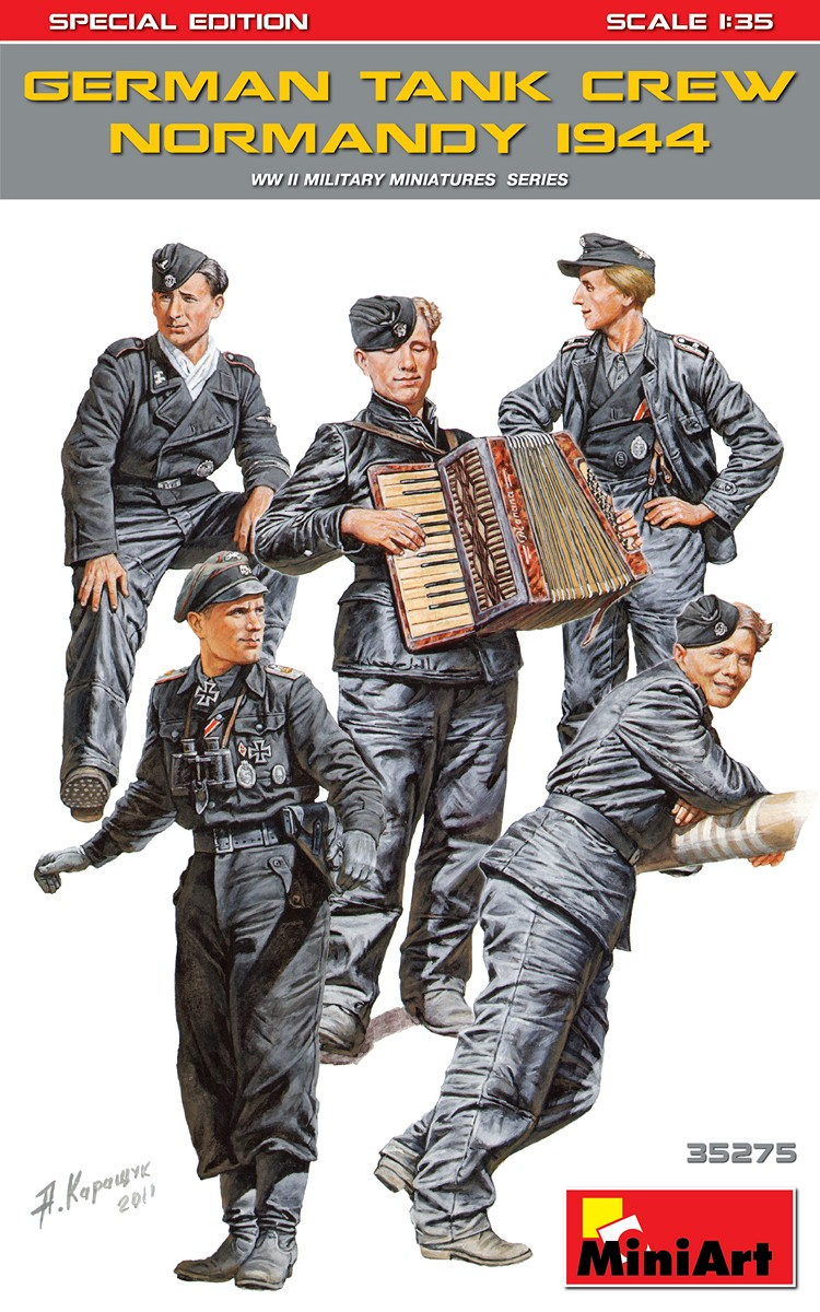 MiniArt German Tank Crew ( Normandy 1944 ) Special Edition (1/35)