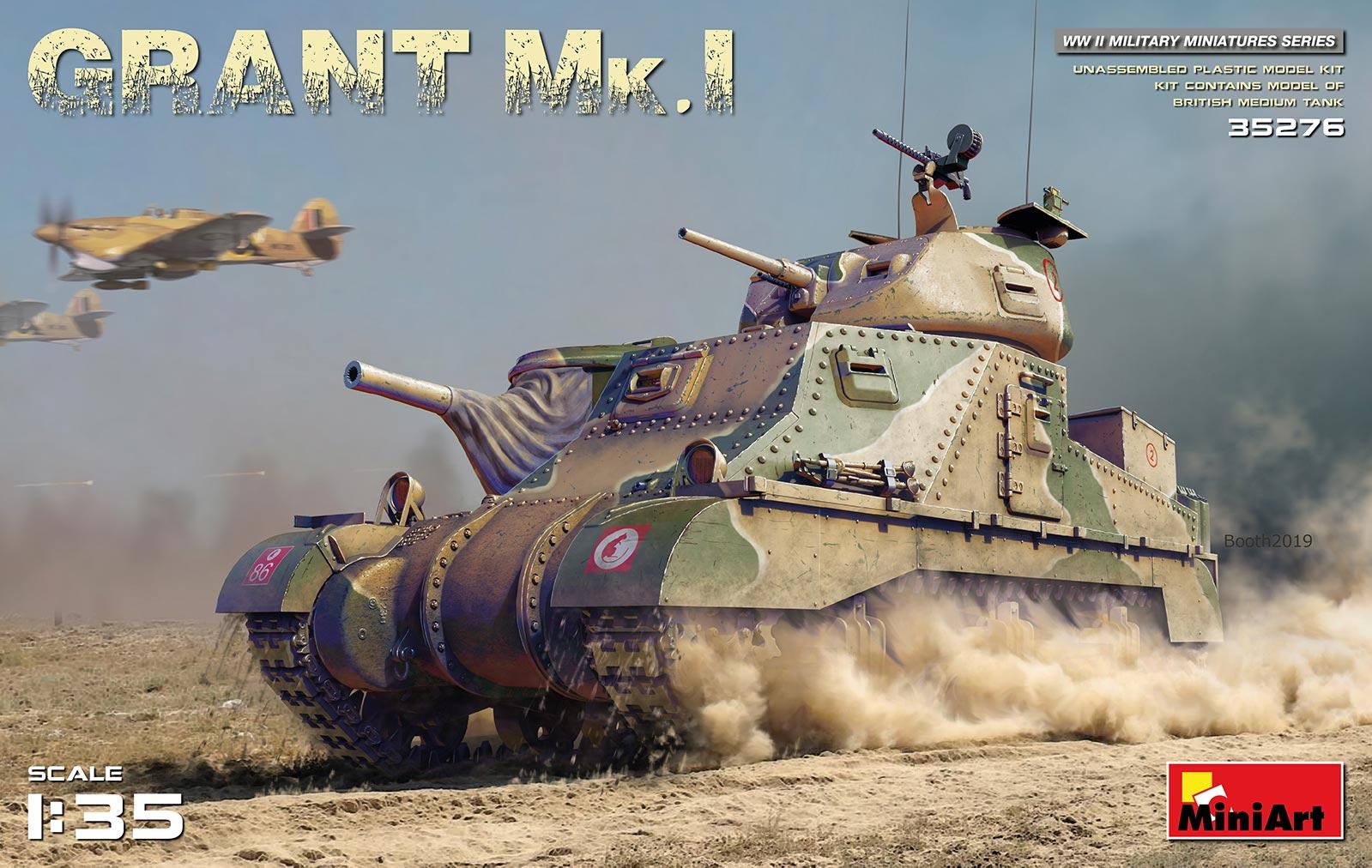 MiniArt Grant Mk.I