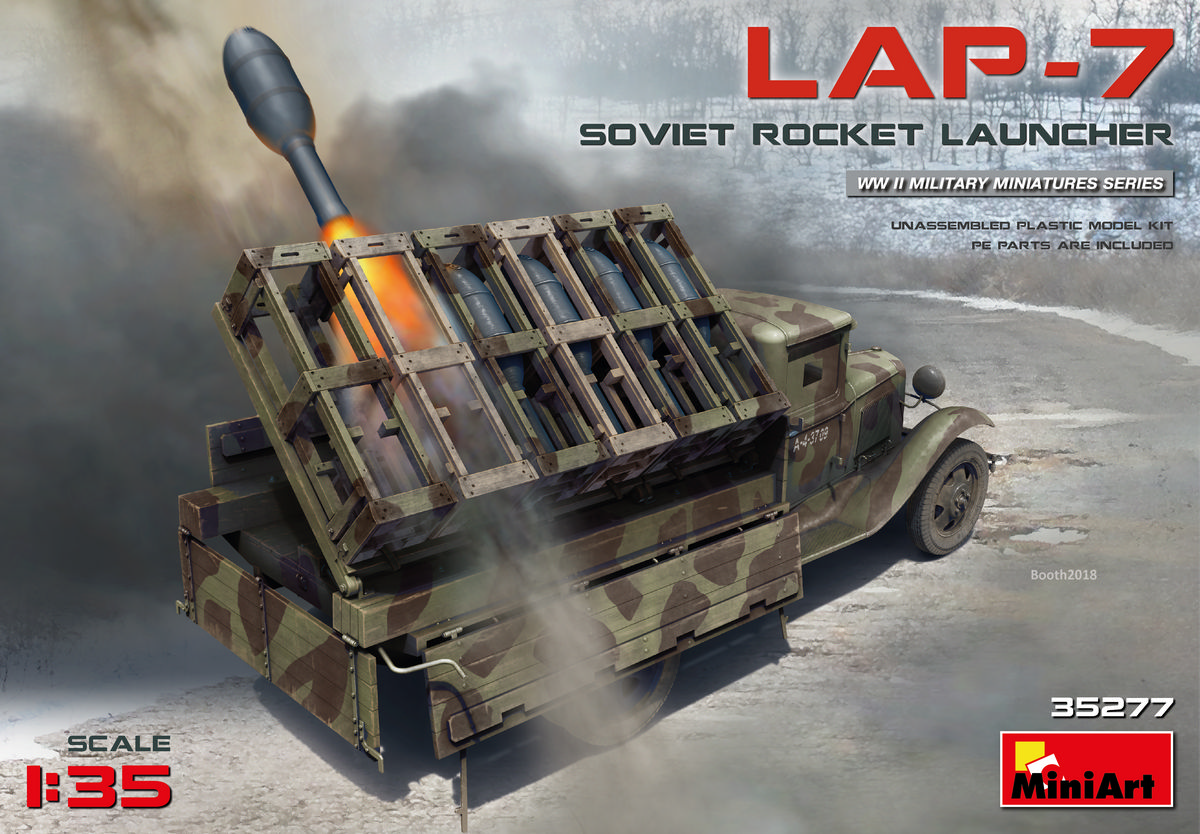 MiniArt Soviet Rocket Launcher LAP-7 (1/35)