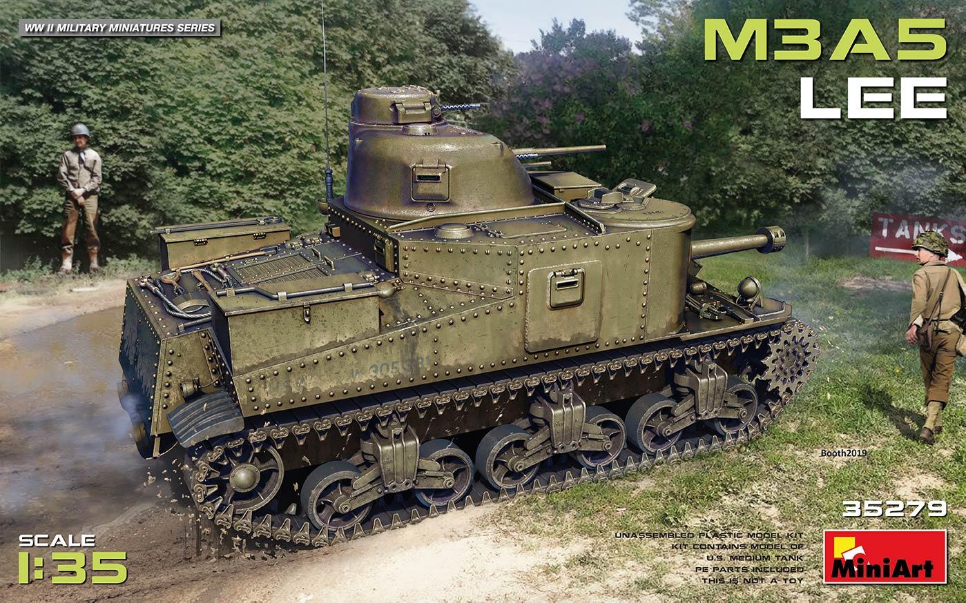 MiniArt M3A5 Lee