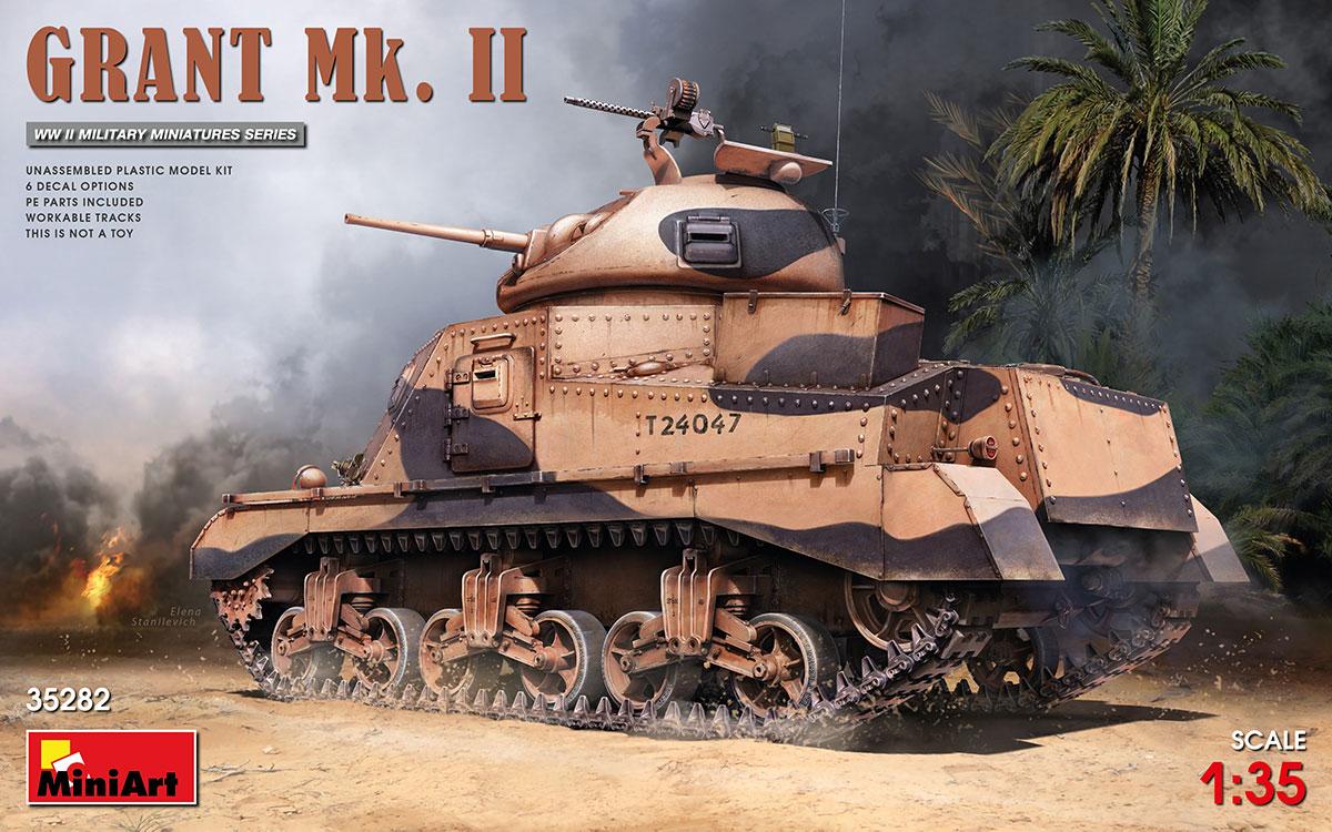 MiniArt Grant Mk. II