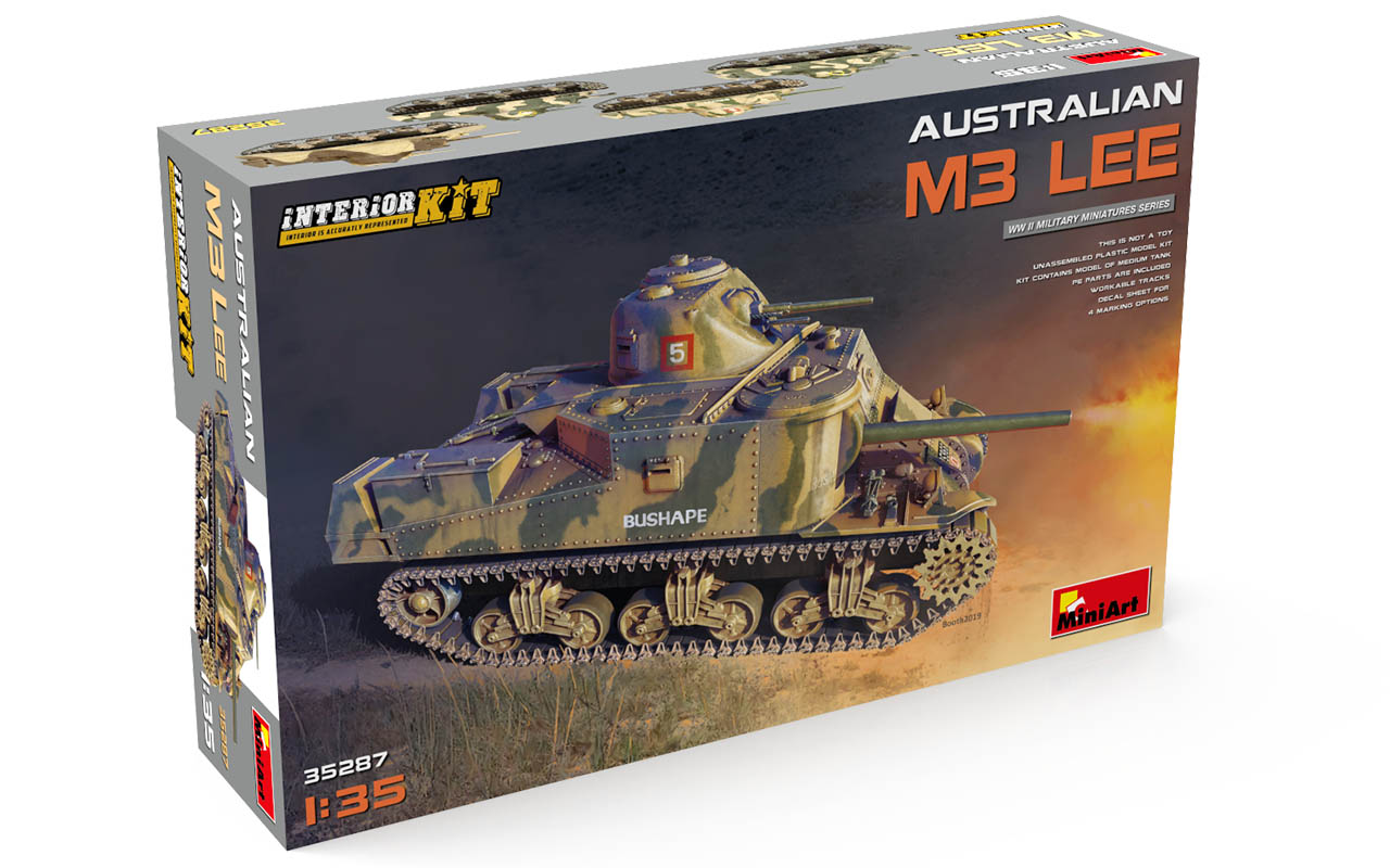 MiniArt Australian M3 Lee. Interior Kit