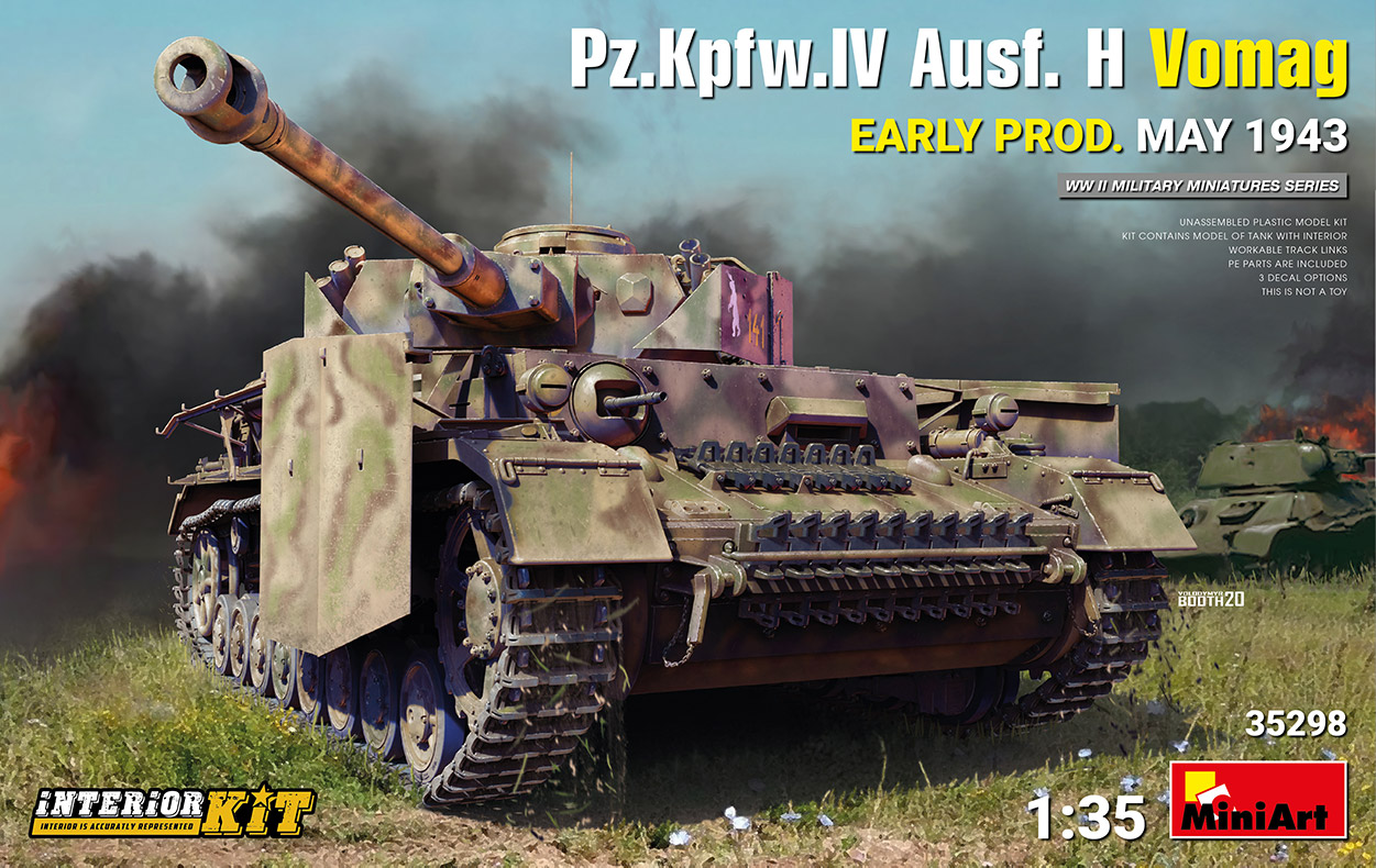 MiniArt 1/35 Pz.Kpfw.IV Ausf. H Vomag. Early Production May 1943 Interior Kit