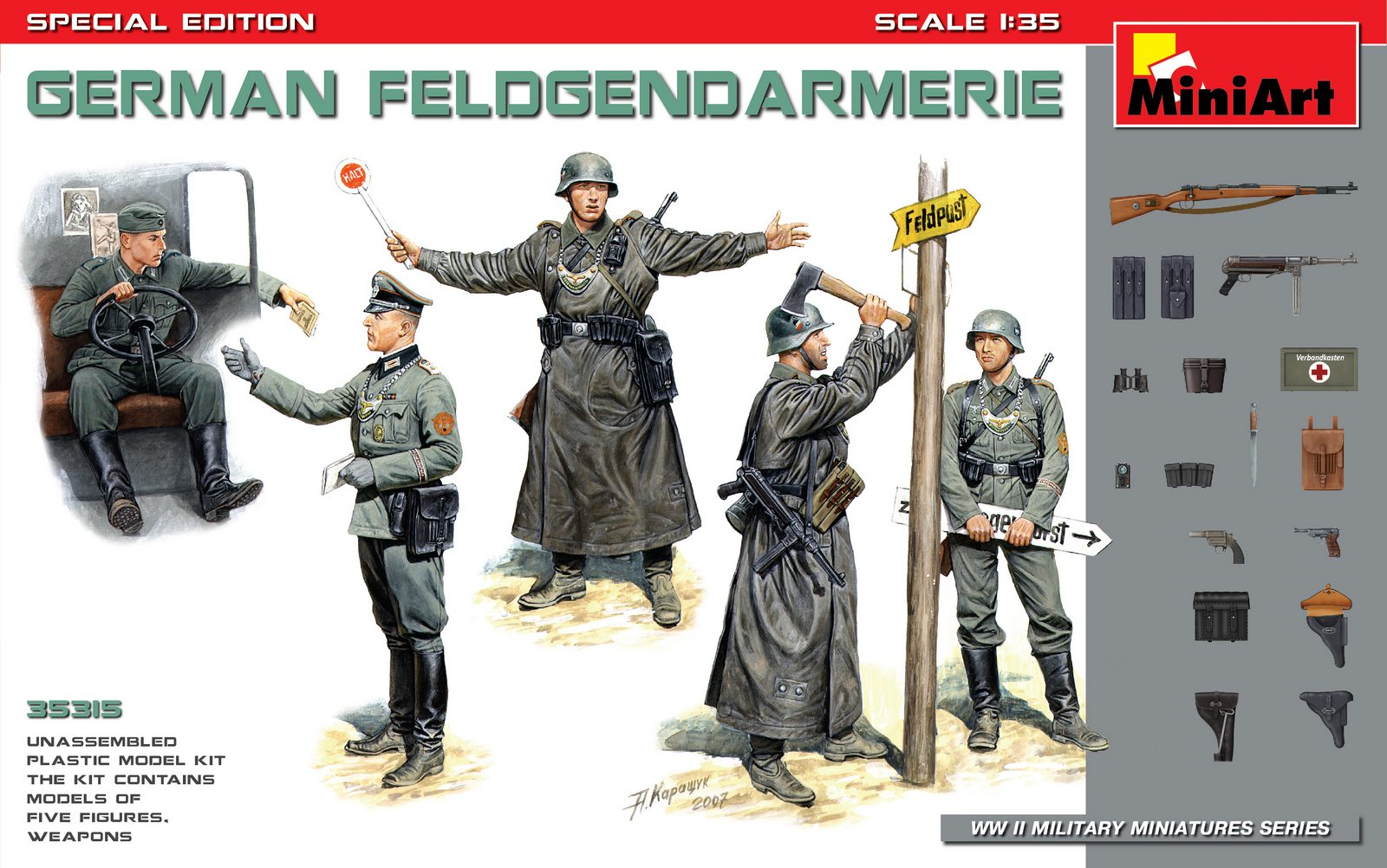 MiniArt German Feldgendarmerie Special Edition (1/35)