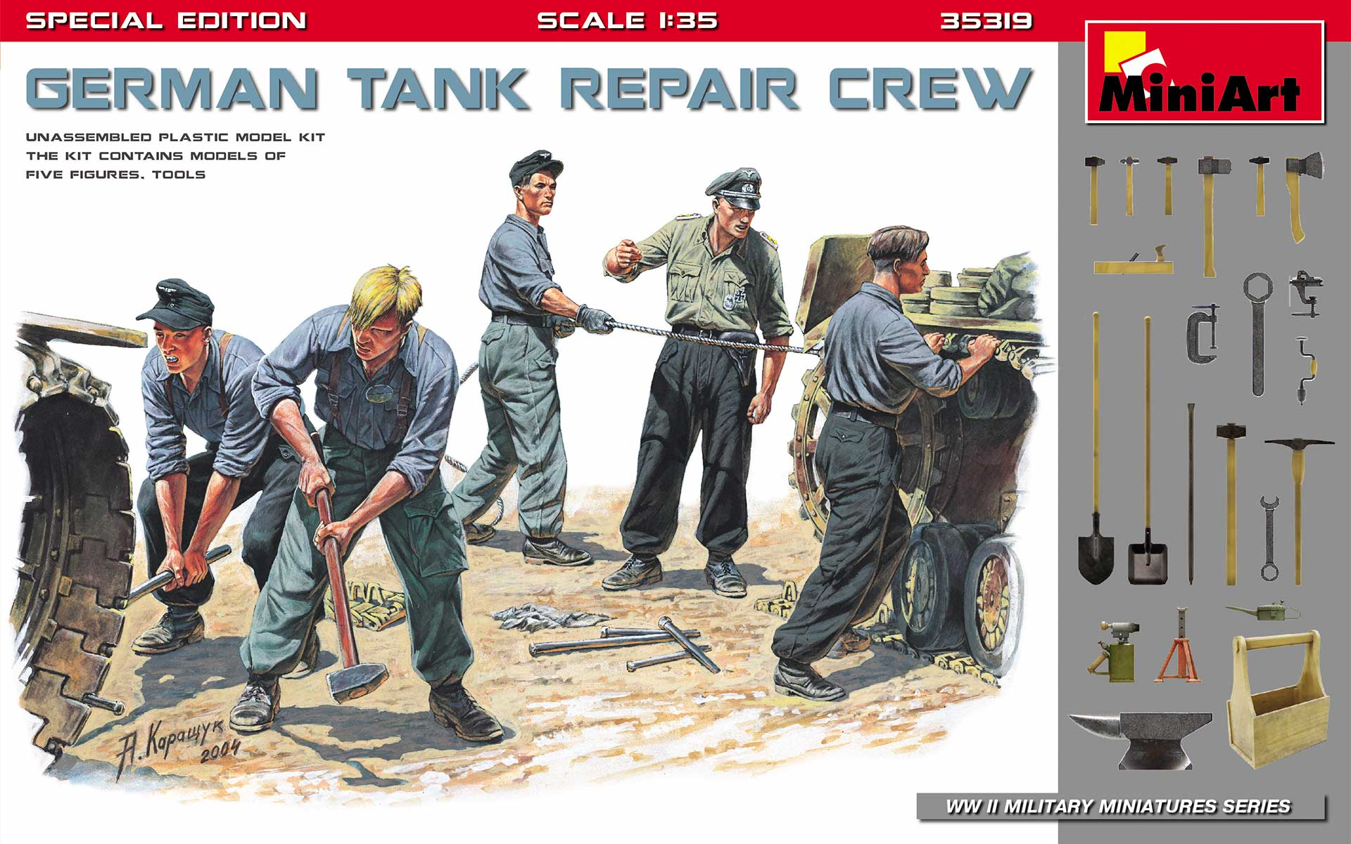 "MiniArt ""German Tank Repair Crew. Special Edition"""