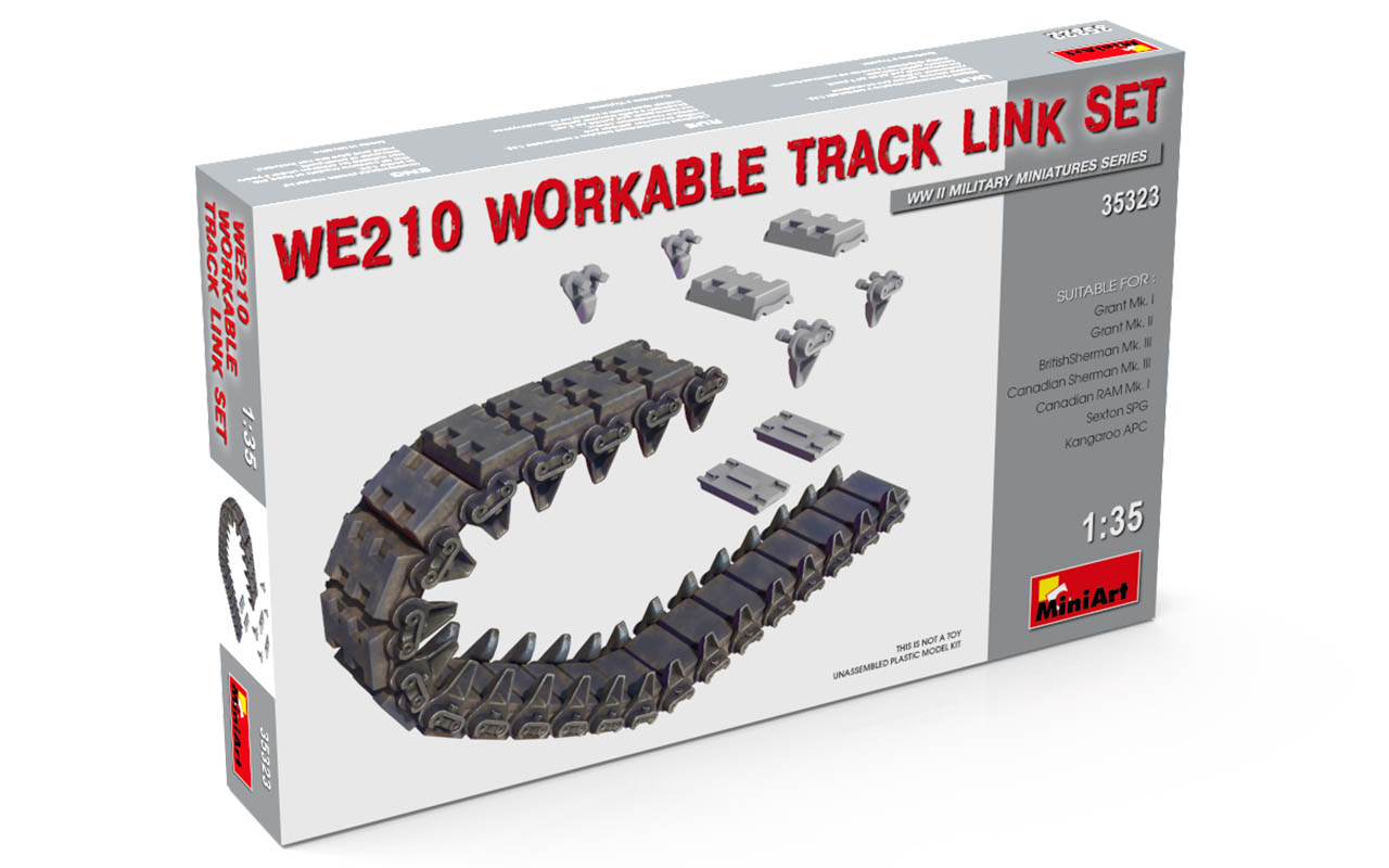 MiniArt WE210 Workable Track Link Set