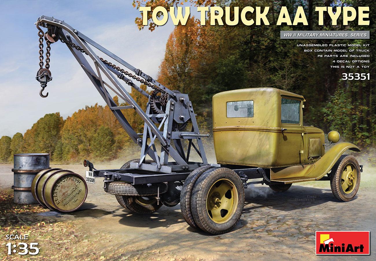Miniart 1/35 AA Type Tow Truck