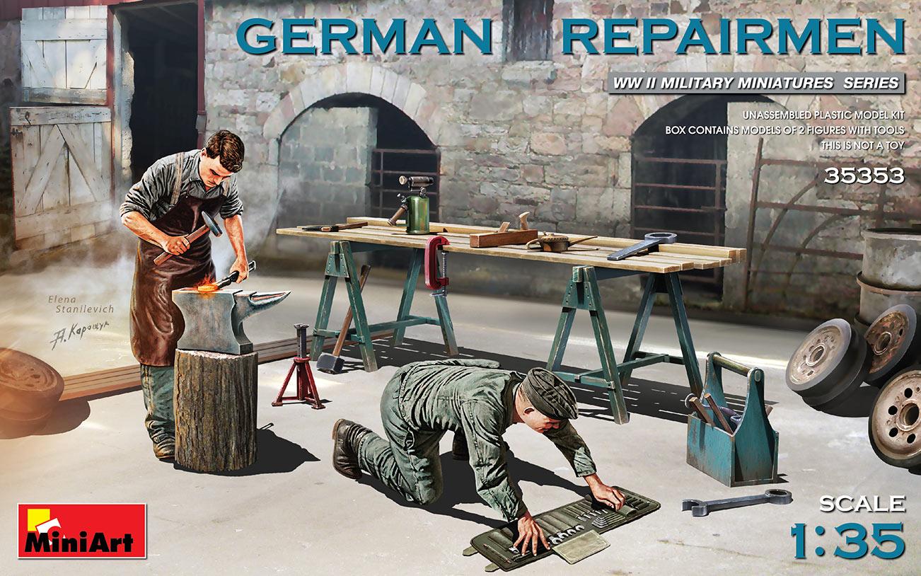 Miniart 1/35 German Repairmen