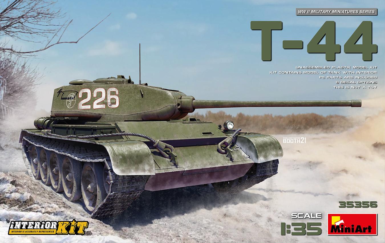 MiniArt 1/35 T-44 Interior Kit