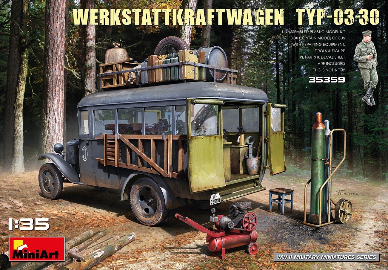 MiniArt Werkstattkraftwagen Typ-03-30 1/35 Scale
