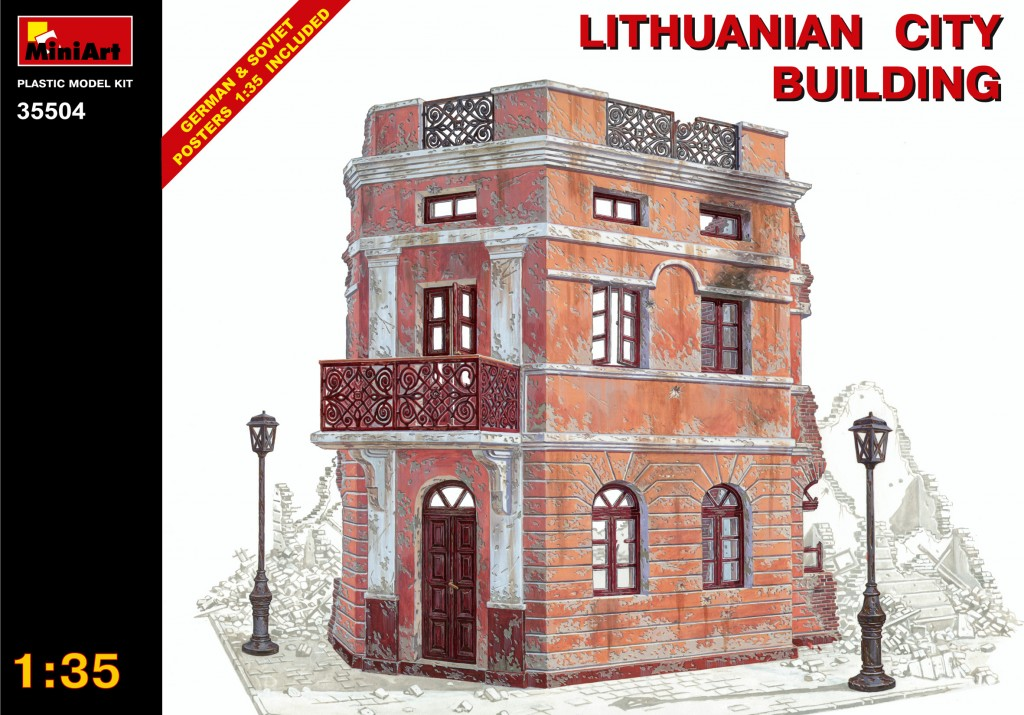 MiniArt Lithuanian City Building (1/35)