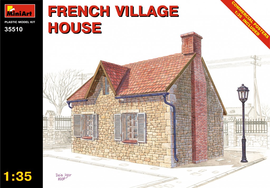 MiniArt French Village House (1/35)