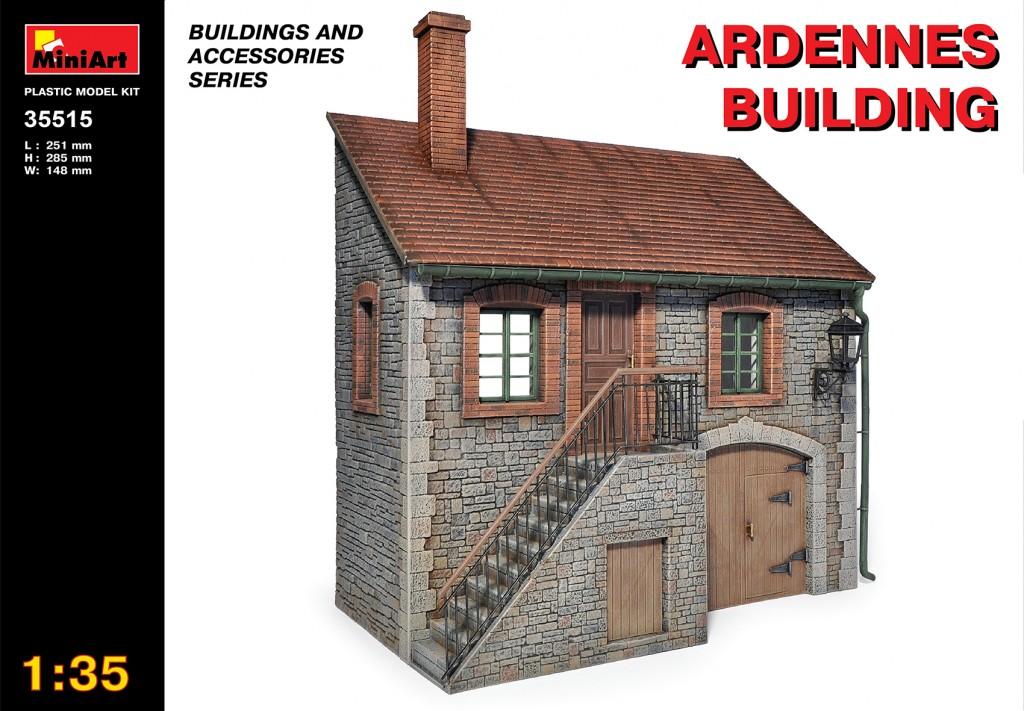 MiniArt Ardennes Building (1/35)