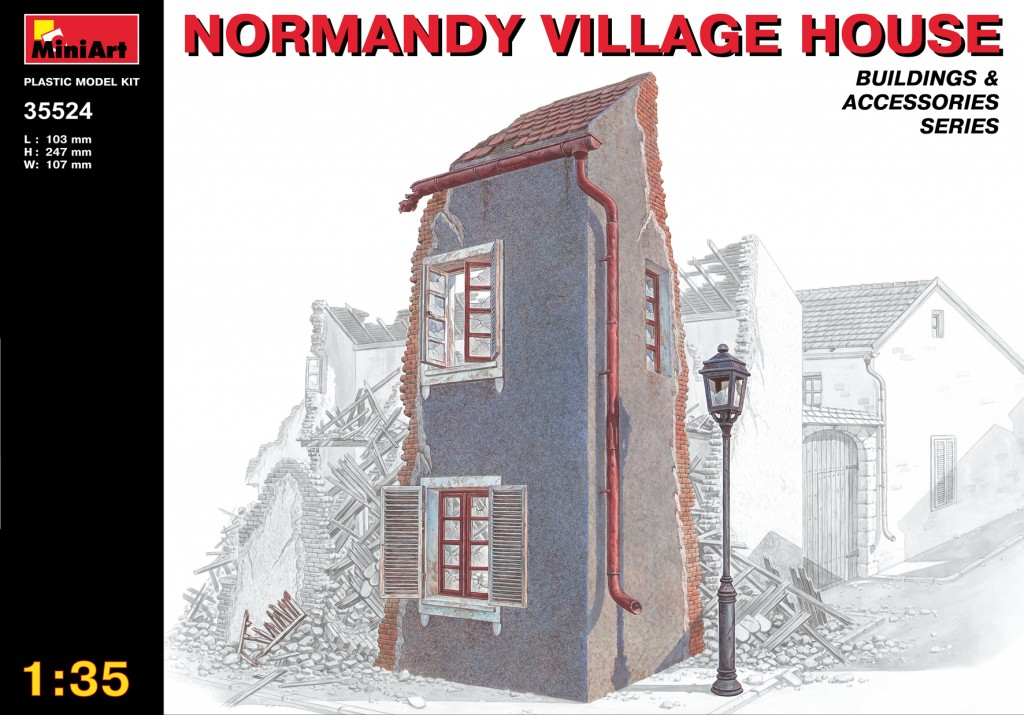 MiniArt Normandy Village House (1/35)