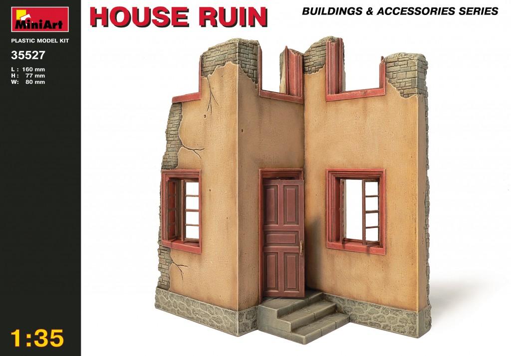 MiniArt House Ruin (1/35)