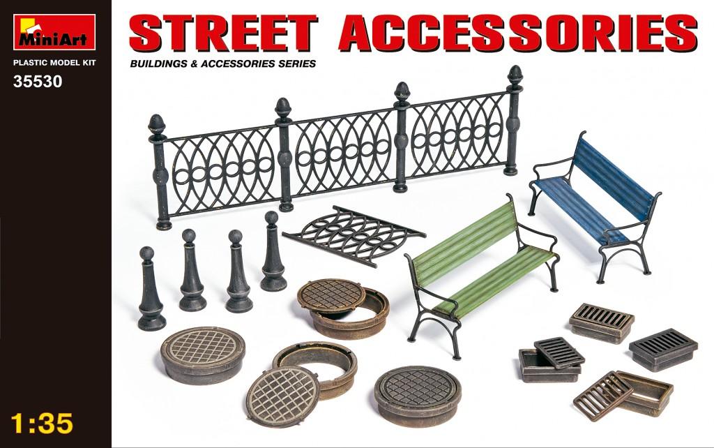 MiniArt Street Accessories (1/35)