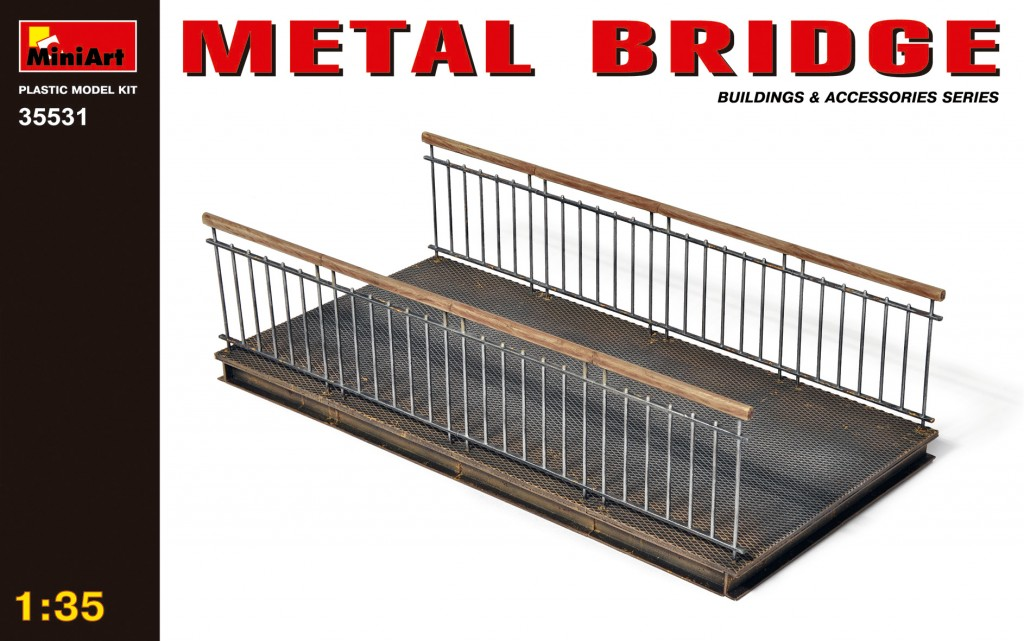 MiniArt Metal Bridge (1/35)
