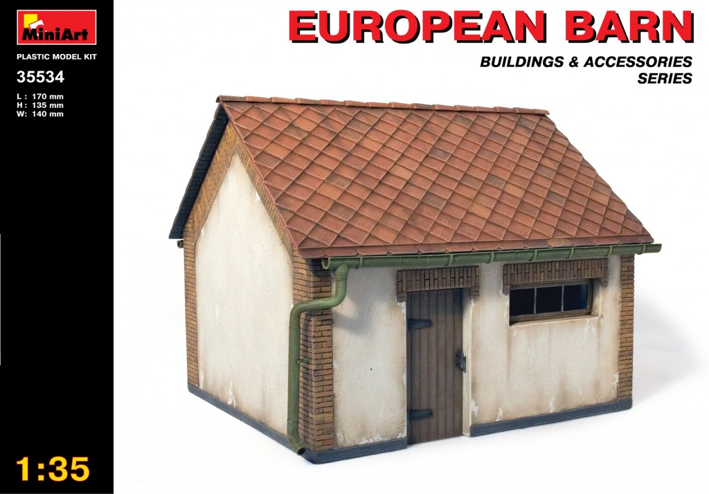 MiniArt European Barn (1/35)