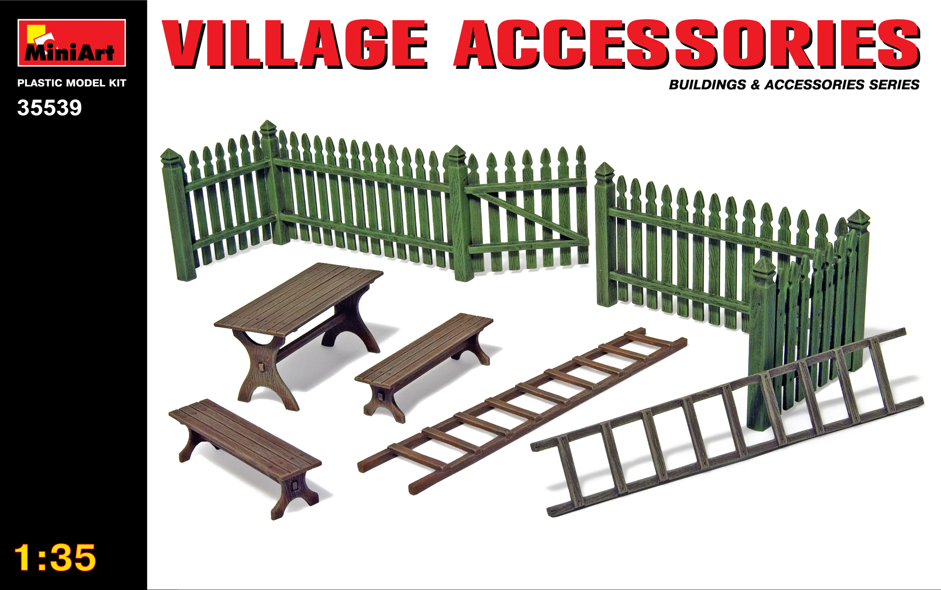 MiniArt Village Accessories (1/35)