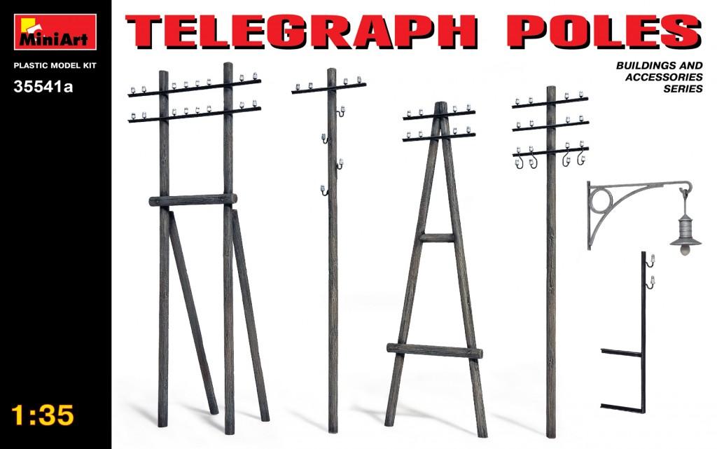 MiniArt Telegraph Poles (1/35)