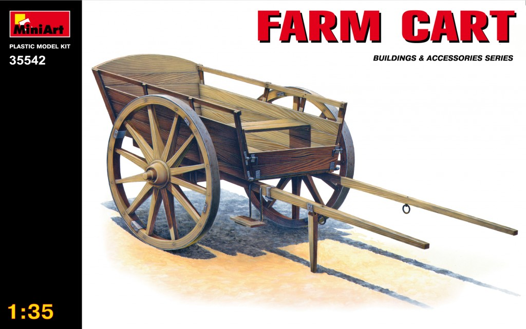 MiniArt Farm Cart (1/35)