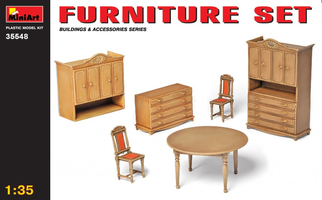 MiniArt Furniture Set (1/35)