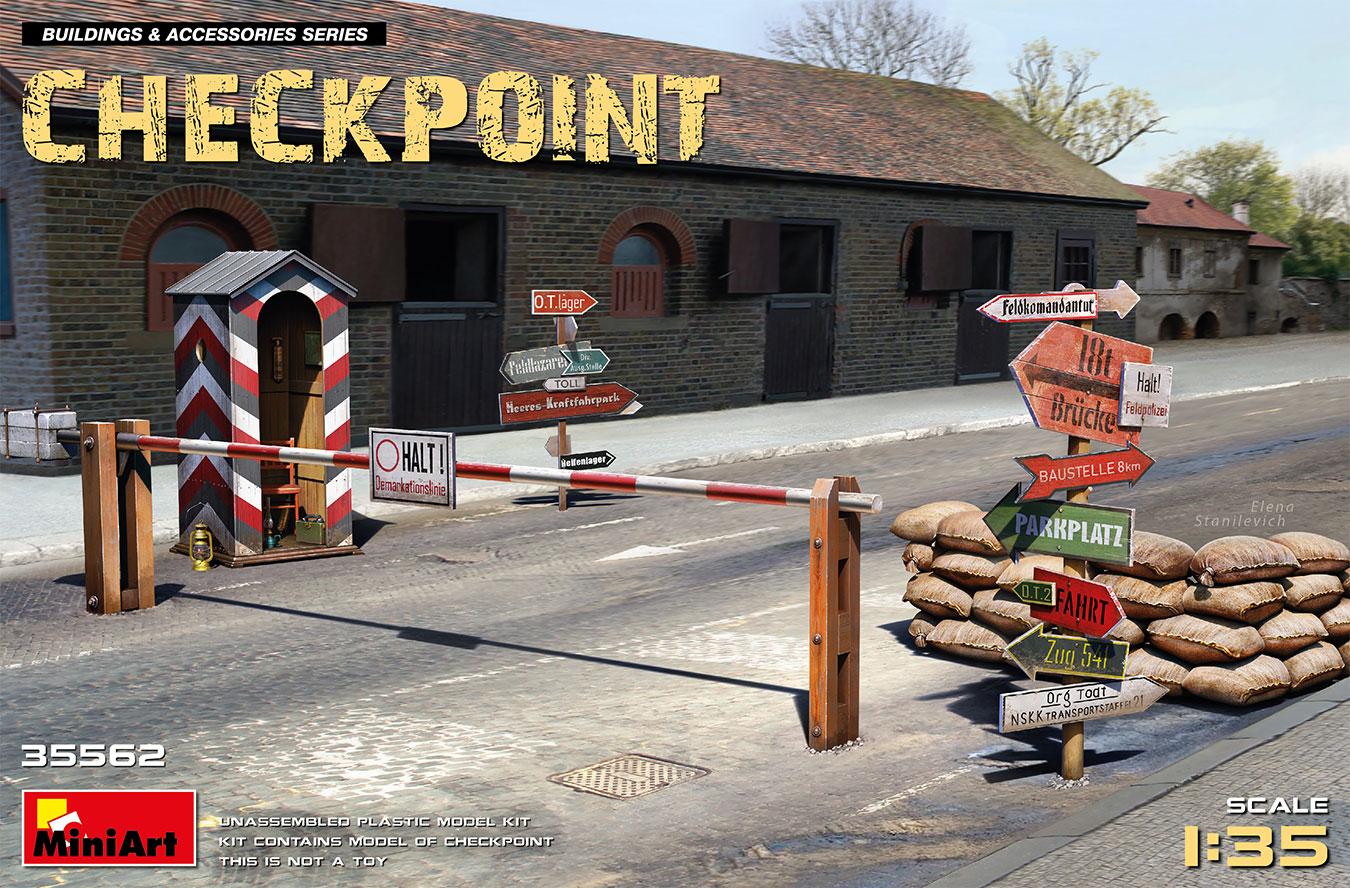 MiniArt 1/35 Checkpoint