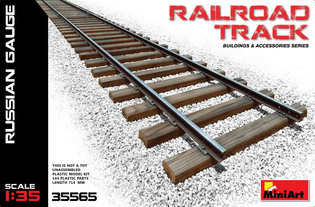 MiniArt Railroad Track (Russian Gauge) (1/35)