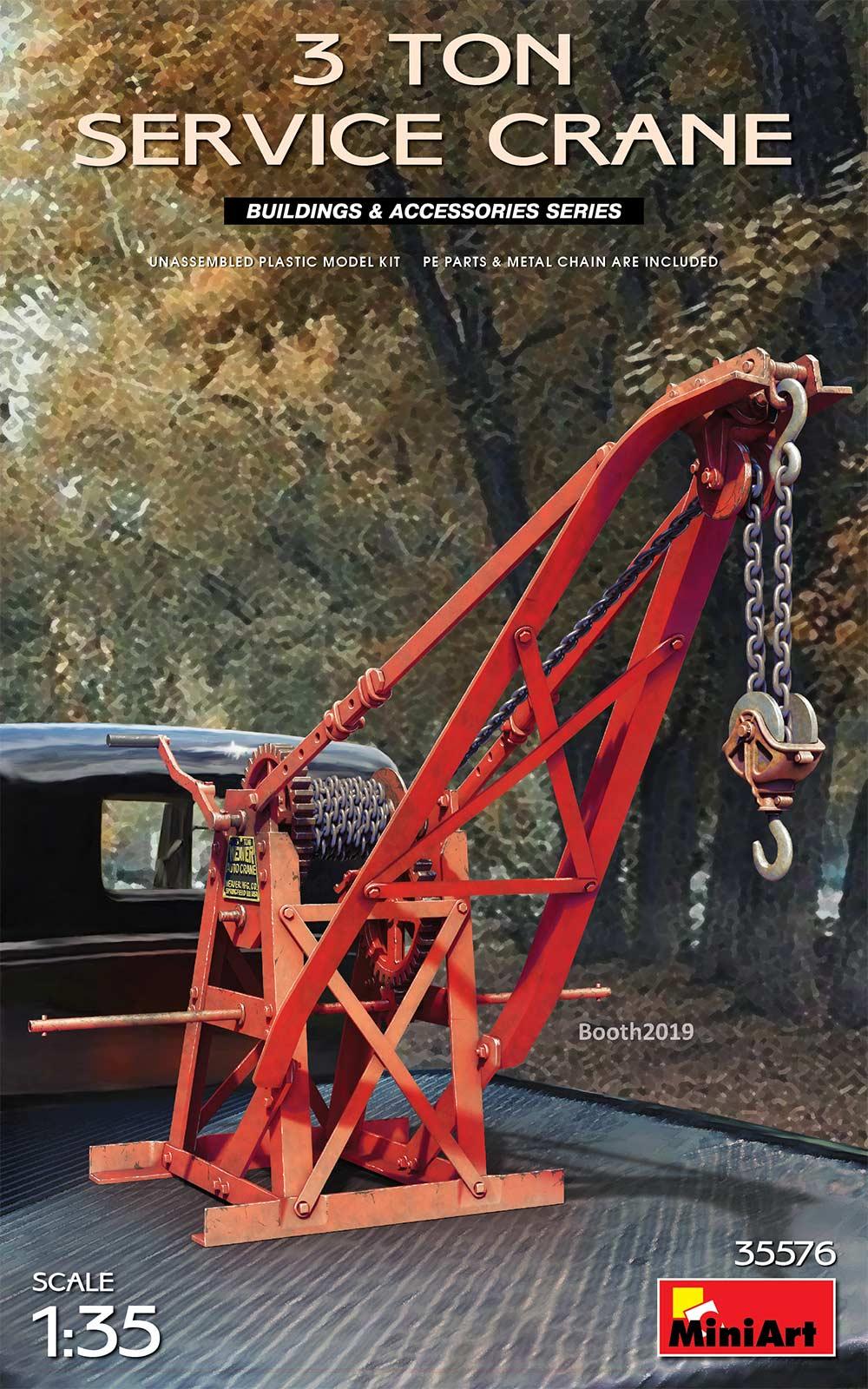 MiniArt 3 Tonne Service Crane (1/35)
