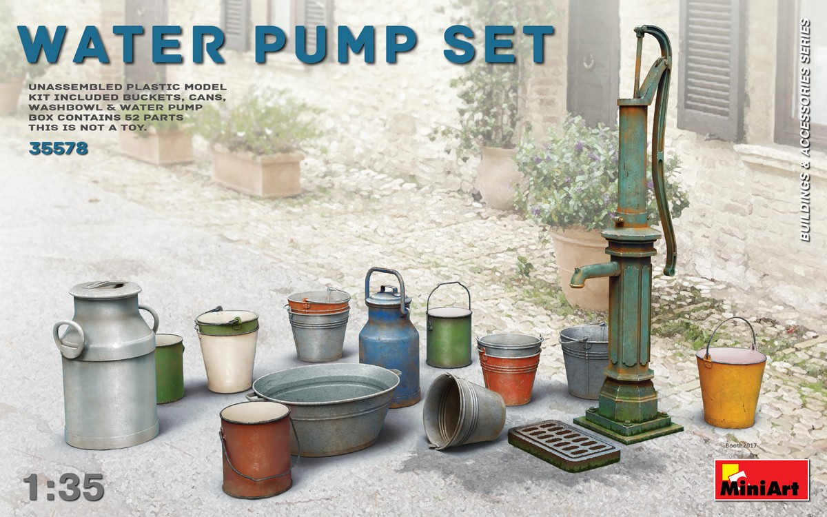 MiniArt Water Pump Set (1/35)