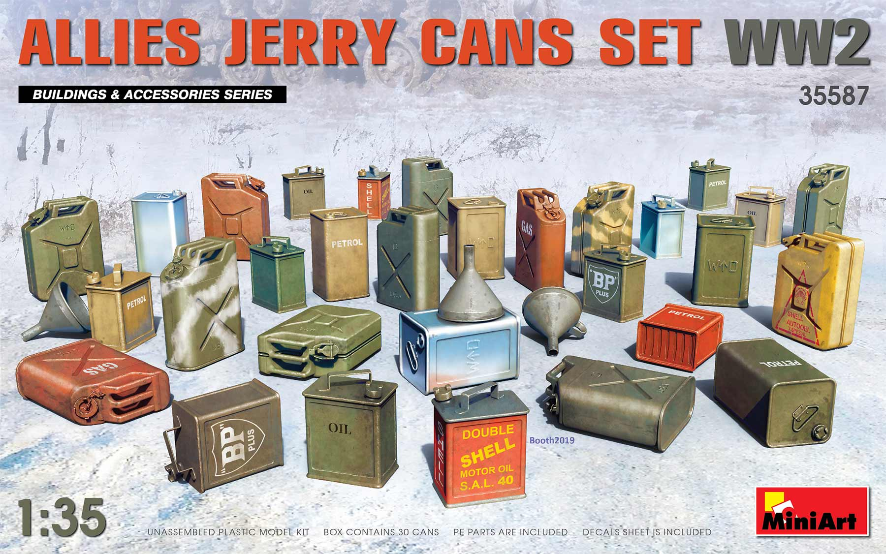 MiniArt Allies Jerry Cans Set WW2