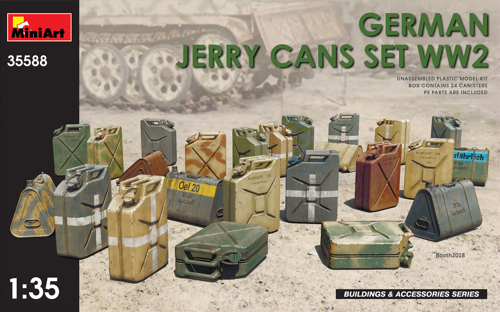 MiniArt German Jerry Cans Set WW2 (1/35)