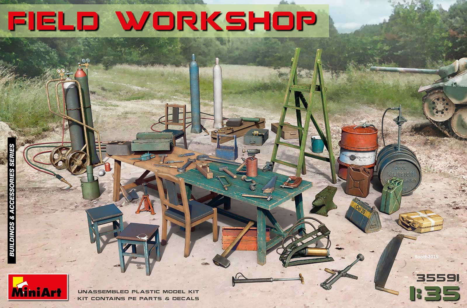 MiniArt Field Workshop
