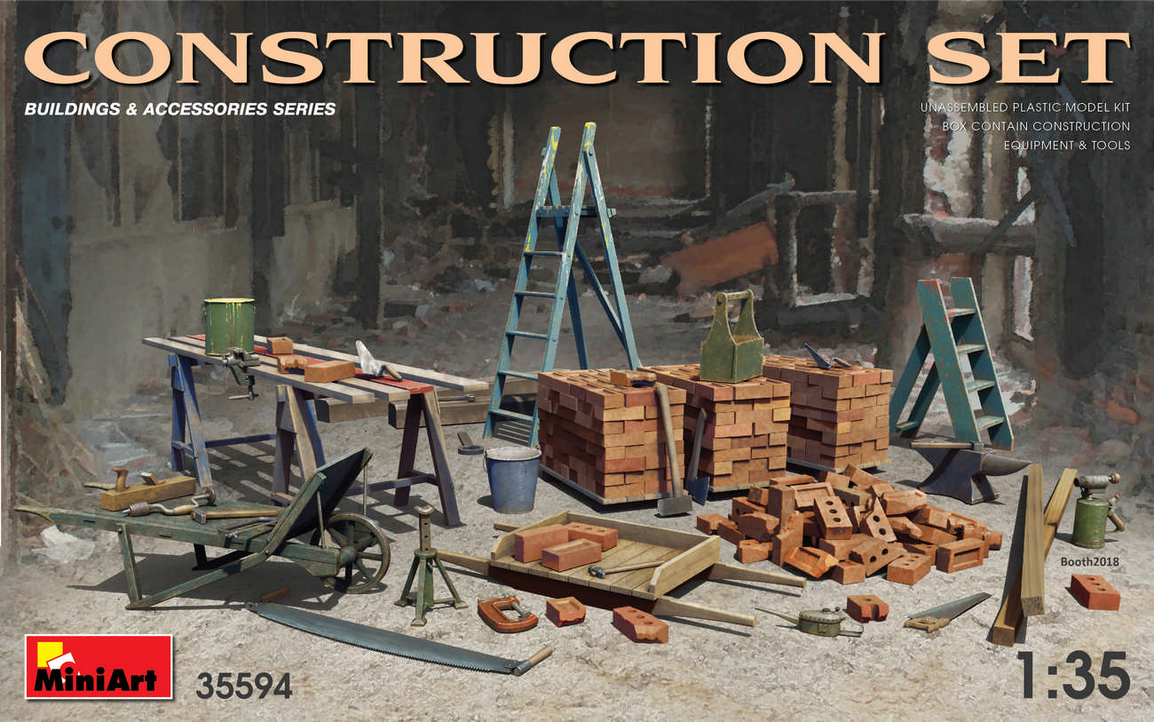 MiniArt Construction Set (1/35)