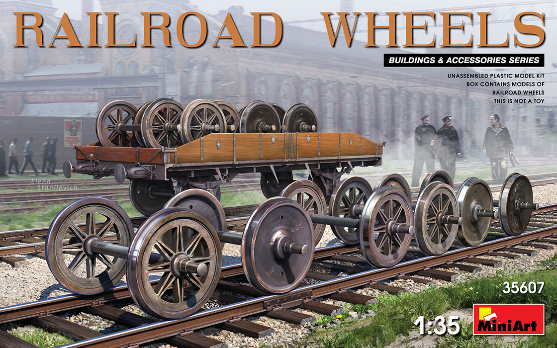 MiniArt Railroad Wheels