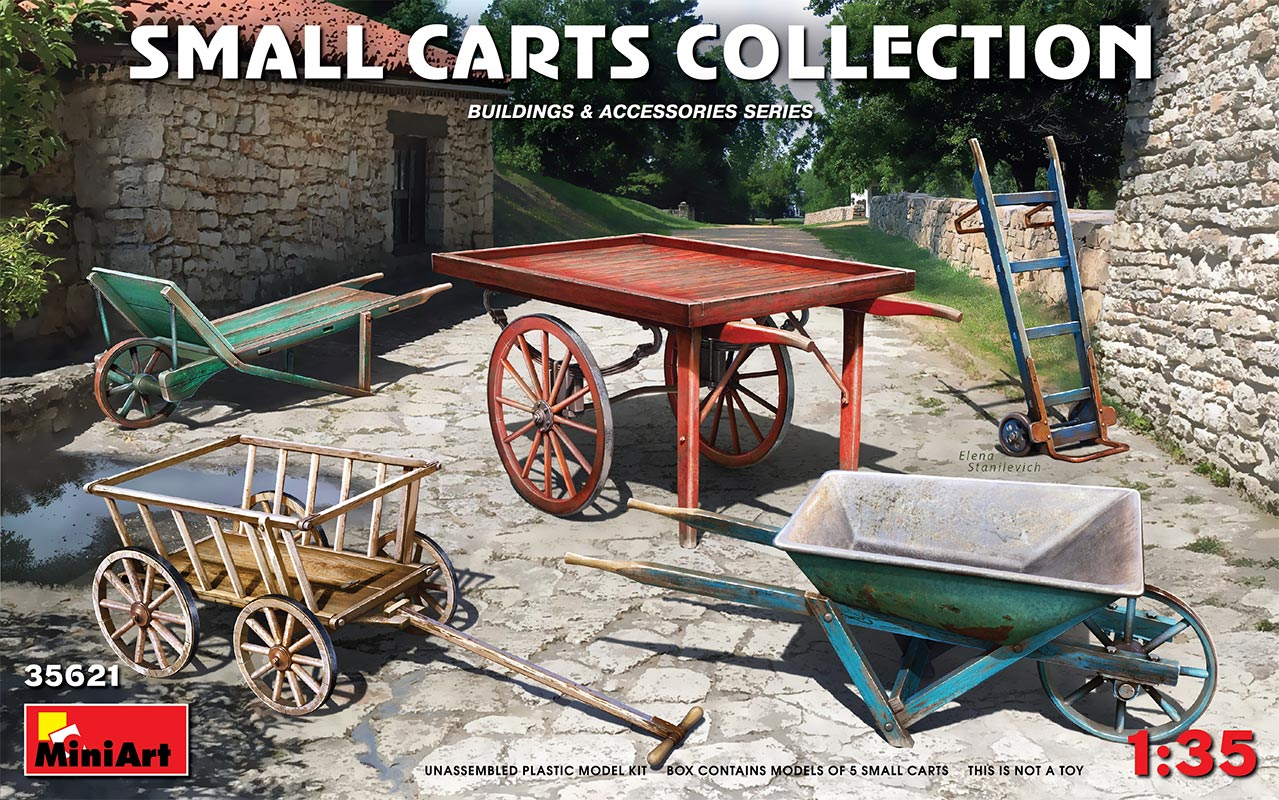 MiniArt 1/35 Small Carts Collection