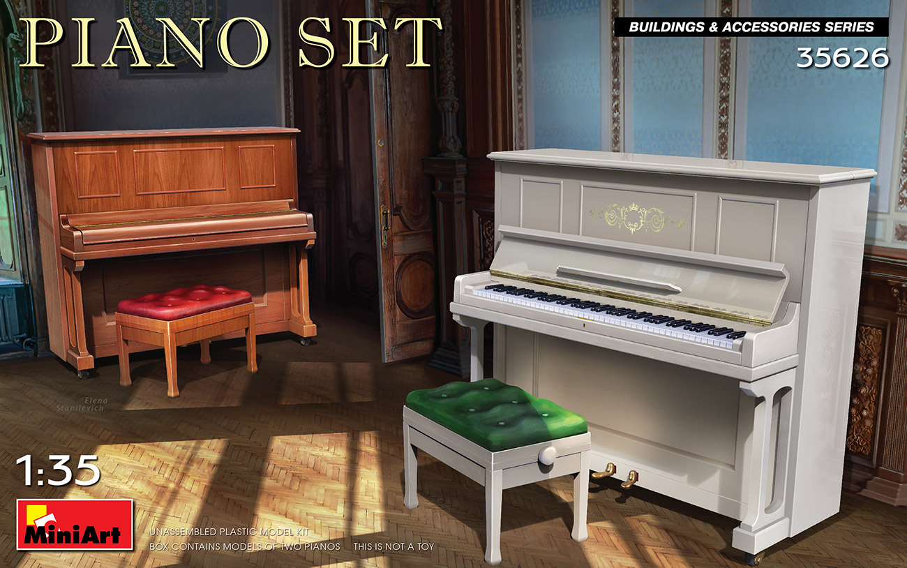 MiniArt 1/35 Piano Set