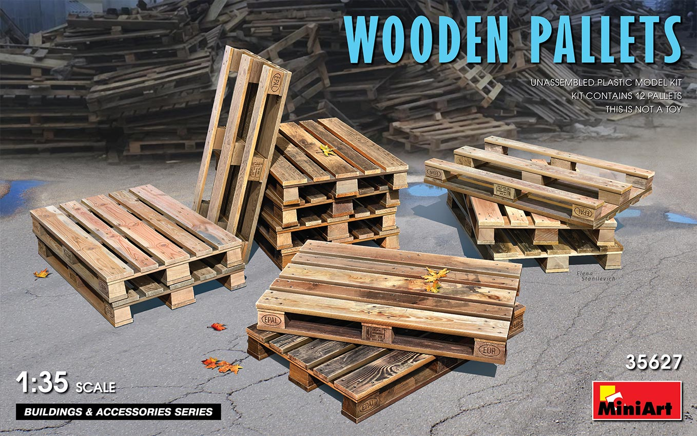 MiniArt Wooden Pallets