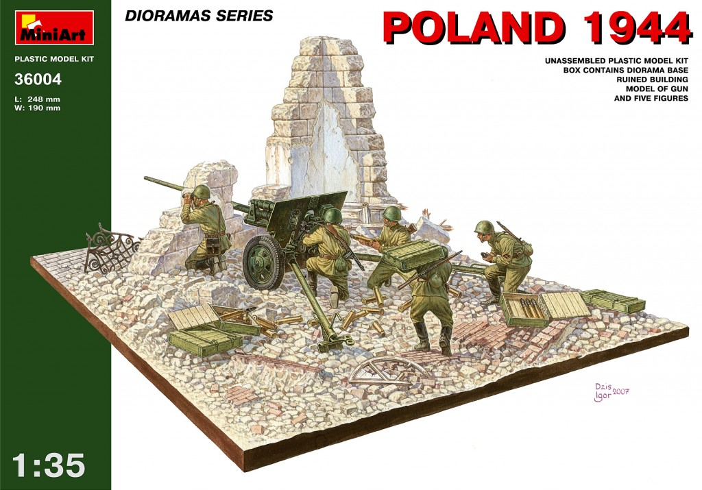MiniArt Poland 1944. (1/35)